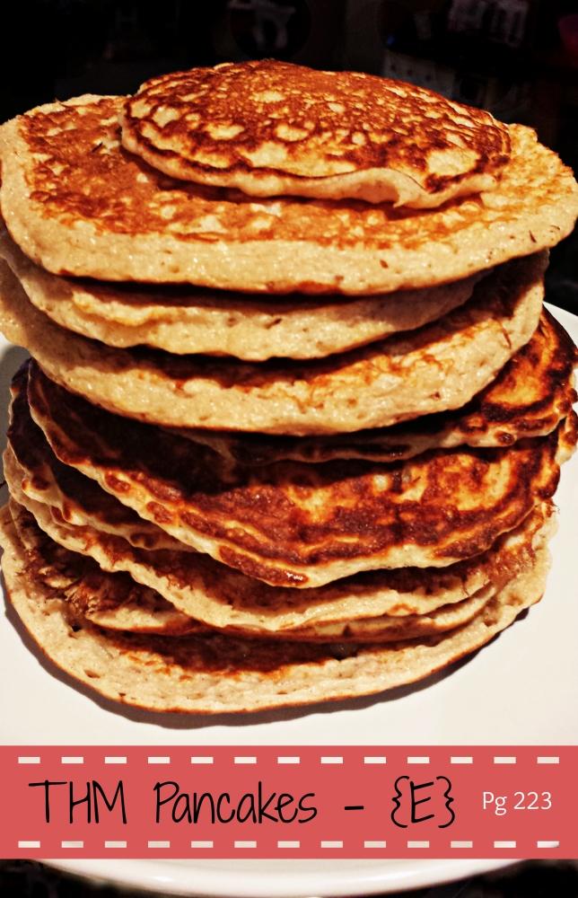 Trim Healthy Mama: Yummy E Pancakes (1/6)
