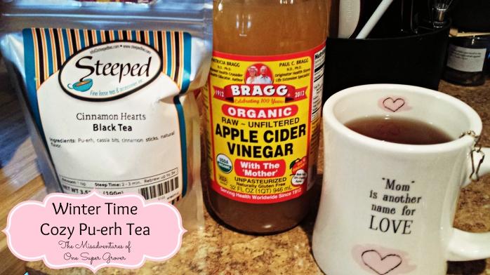 winter time cozy pu-erh tea recipe