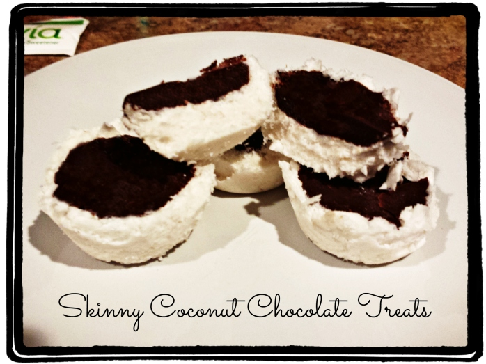 Skinny Coconut Chocolate Treats